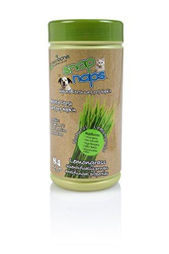 Greenbone Everyday Use No Alcohol Fomula Natural Pet Wipes 84 Count 8' x 7'