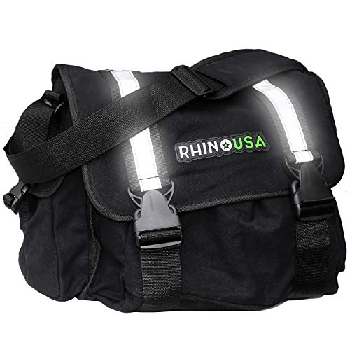 Rhino USA Ultimate Recovery Gear Storage Bag - Keep All Your Rhino Products Secure & Organized - Heavy Duty Large Bag to Fit Your Tow Straps, Shackles, Snatch Block & Anything Else You May Need!