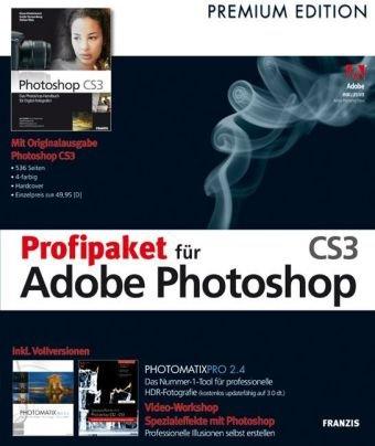 Profipaket für Adobe Photoshop CS 3, CD-ROM Für Windows XP, Vista und MAC OS X (10.3.9 oder höher)
