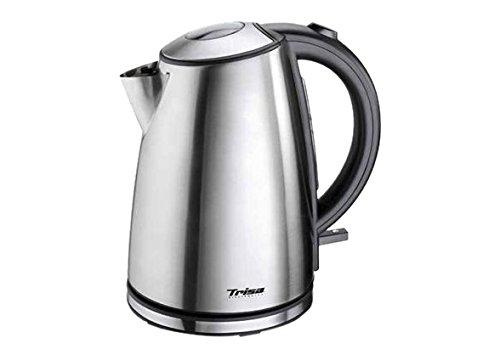Trisa Quick Boil Wasserkocher schnurlos Edelstahl (gebürstet)