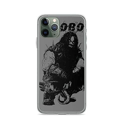 Soporte de TPU para iPhone 12/12 Pro MAX 12 Mini 11 Pro MAX SE X XS MAX XR 8 7 6 6s Plus Funda Lobo SilhouetteCubierta de Las Cajas del teléfono Pure Clear