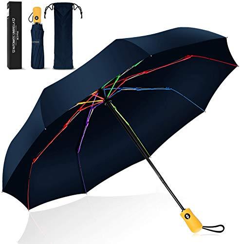 ombrello portatile xiaomi Ombrello Pieghevole Portatile Automatico Antivento
