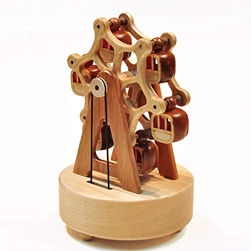 Spieluhr Aus Holz Riesenrad-Spieluhr Ahorn Basteln Schloss Im Himmel