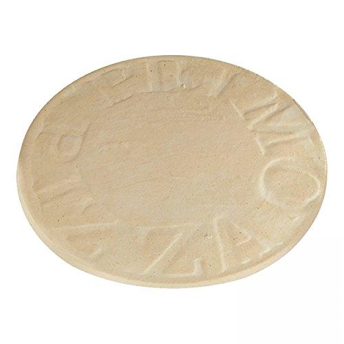 BBQ-Scout 8350 Primo Pizza Stein Natur 30 cm für Oval 400 XL, 300 Large, 200 Junior und Kamado