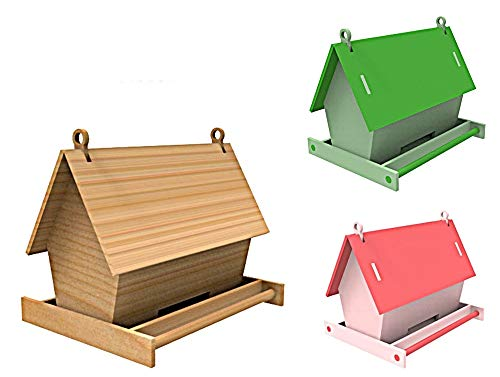 N.E.Cut Bird Table Feeder Base 262mm x 150mm by 230mm High inc Assembly info Difficulty Level 2 ~BBB017