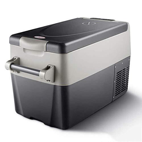 TUNBG Elektrische koelbox 12 V 240 V draagbare autokoelkast, 32 qt draagbare polypropyleen compressor koelkast vrieskast hoge koeling Coolbox kan lager zijn dan de omgevingstemperatuur 18 °