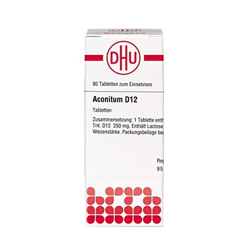 DHU Aconitum D12 Tabletten, 80 St. Tabletten