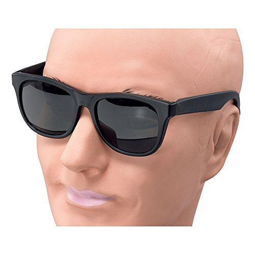 Bristol Novelty BA949 Gangster Brille, Schwarz, Einheitsgröße