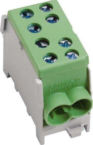 Hager Hauptleitungsklemme KH35E 35qmm, 1-p. Fingers. Hauptleitungsklemme 3250613780296
