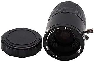 Yohii 3.5-8.0mm F1.4 CCTV Lens CS Mount Manual Focus Zoom Focal IR 1/3