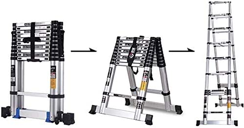 TUOL1AO Extension Special Campaign Ladder Portable Telescopic Loft Sales of SALE items from new works Ladde Aluminum