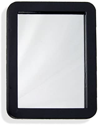 5 1/4 x 6 7/8 Inch Magnetic Locker Mirror - Real Glass