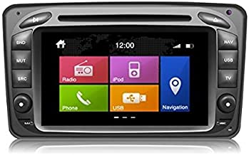 Dynavin N6-MC2000 Radio Navigation System, for Mercedes C Class and CLK 2000-2004