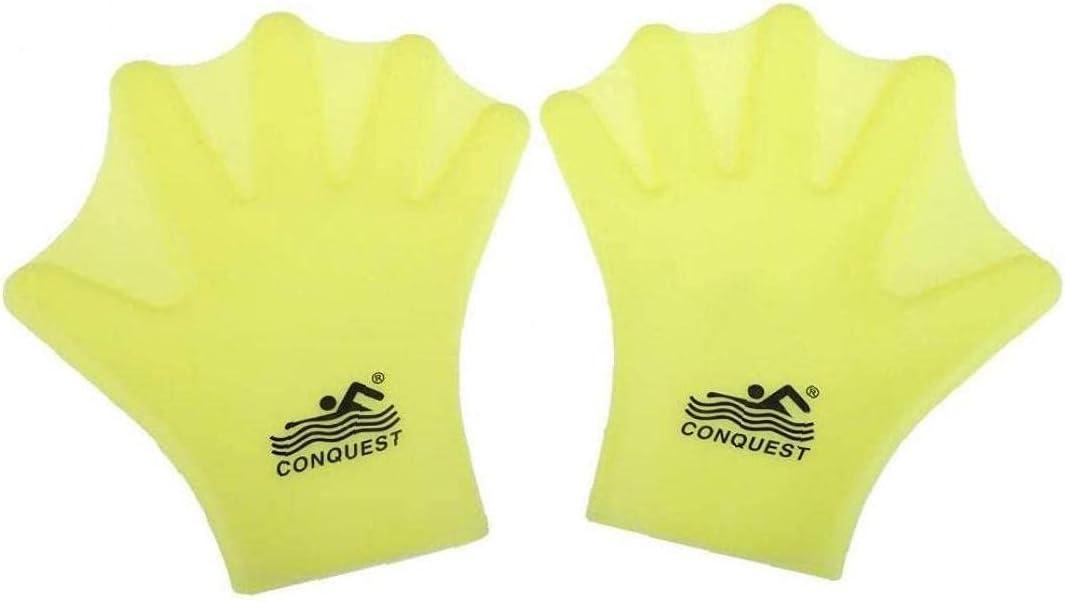 Hainice Cheap sale Webbed Gloves Swimming OFFer Paddles Finger Full Aquatic Hand