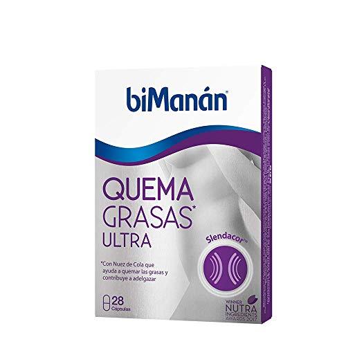 biManán - Complementos - Quemagrasas - Quemagrasas Ultra - 28 cápsulas 20 gr