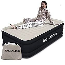 in budget affordable Britain's first AIR microfiber mattress, double size, luxurious inflatable bed with built-in pump, the best …