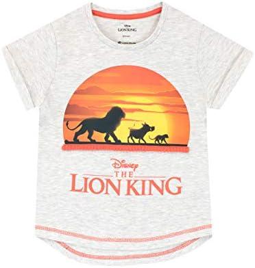 Camiseta de Manga Corta para niñas The Lion King Rey León