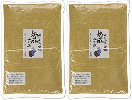 樽の味 熟成発酵のぬか床 1kg×2袋