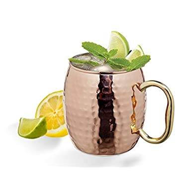Moscow Mule 20 Ounce Hammered