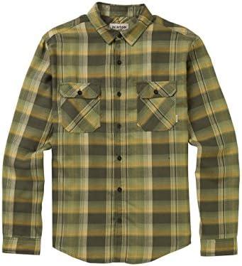 Burton Brighton - Camisa de Franela para Hombre