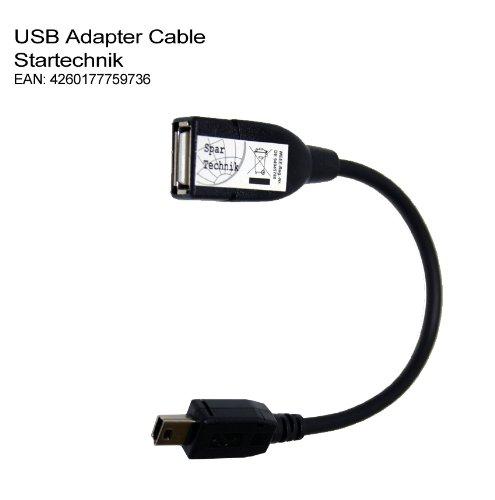USB-Adapterkabel für Sony Camcorder für direktes Kopieren auf eine externe Festplatte