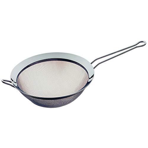WMF Gourmet Küchensieb 20 cm, Sieb Edelstahl, Cromargan Edelstahl poliert, spülmaschinengeeignet