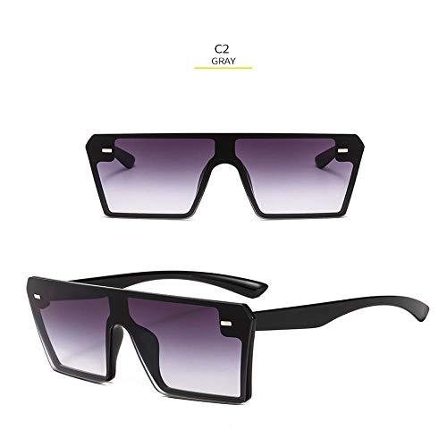 Sonnenbrille Sunglasses Neue Quadratische Sonnenbrille Herren DamenDesigner Spiegel Silber Schwarz BlauSonnenbrille Für HerrenLuxusbrillen Uv400 2
