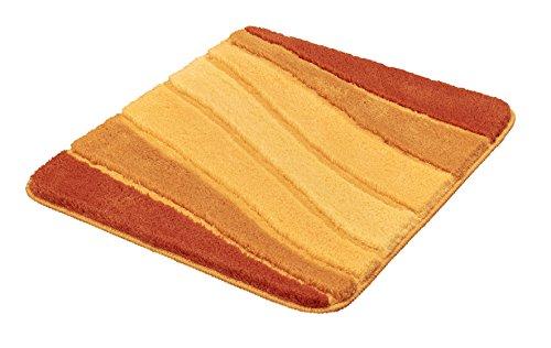 Meusch Badteppich Ocean braun/orange 55 x 65 cm