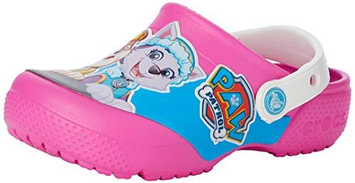 Crocs Unisex-Kinder Fun Lab Paw Patrol CLG K Clogs, Pink, 29/30 EU