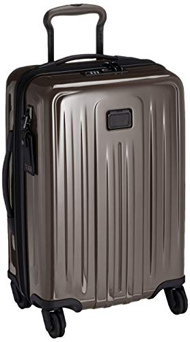 TUMI - V4 International Expandable 4 Wheeled Carry-On - 22-Inch Hardside Luggage for Men and Women - Mink
