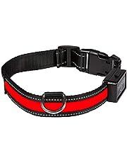 Num'axes 01830601 Collar Eyenimal con USB Rojo - S