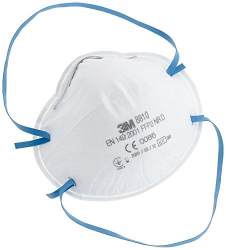 Atemschutzmasken Klassik ohne Ventil/8810 FFP2 Inh.20