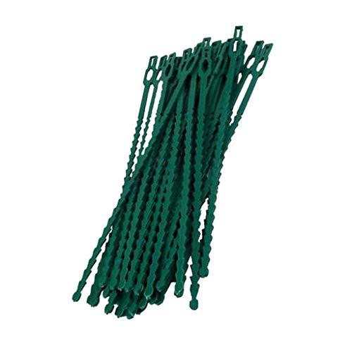 Amuzocity Planta Cubierta de Plástico Ajustable Tie Wire Garden DIY Bonsai - 23cm