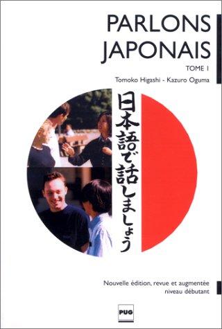 Parlons japonais, tome 1 (livre uniquement)
