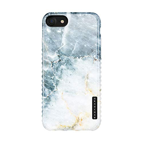 iPhone 8 & iPhone 7 & iPhone SE [2020 Released] case Marble, Akna Collection Flexible Silicon Cover for iPhone 8 & iPhone 7 & iPhone SE [2020 Released] (901-U.S)