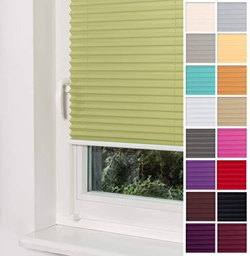 Plissee Grün HOME-VISION
