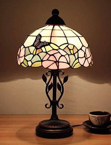 GXY Lámpara de Mesa con Diseño de Mariposa Lámpara de 10 Pulgadas...