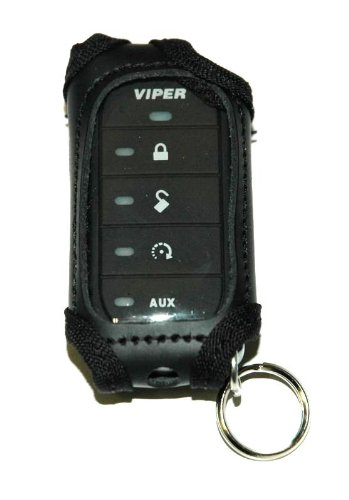 Black Leather Case for 7856V or 7656V Viper Remote