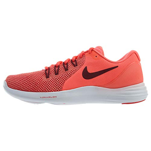 Nike Lunar Apparent Womens Running Shoes 908998-600 (7) Red