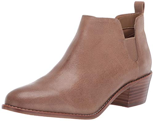 Aerosoles Women's Delancey Ankle Boot, Brown Leather, 9.5 M US
