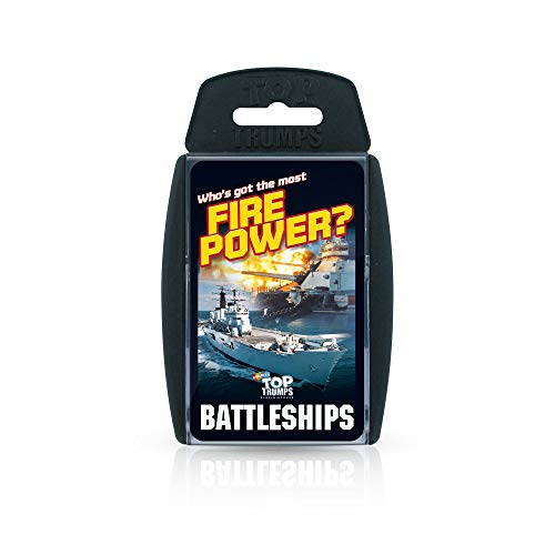 Battleships Top Trumps Card Game