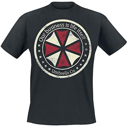 Resident Evil Umbrella Co. - Our Business is Life Itself Männer T-Shirt schwarz L
