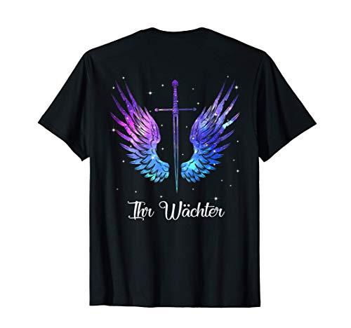 ihr wächter sein engel Her Guardian - His Angel Wings T-Shirt