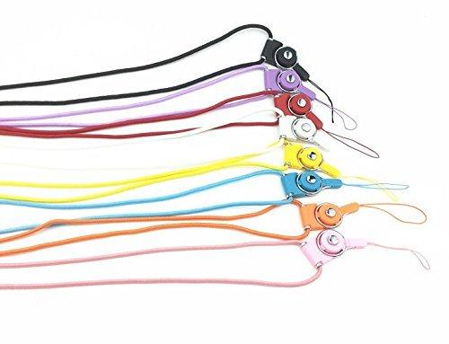 vndeful 8pcs 18inch teléfonos móviles cámara iPod MP3MP4USB Flash Drive Tarjeta de Identificación Insignia y otros dispositivos electrónicos Universal desmontable correa larga cuello