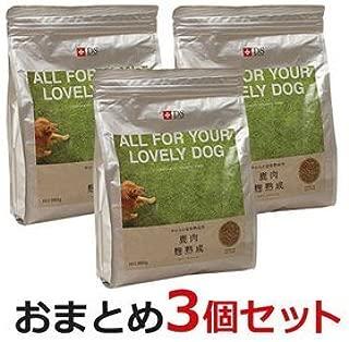 【国産・無添加・全年齢】鹿肉ドッグフード DOGSTANCE 鹿肉麹熟成 800g×3袋 (鹿肉 犬用 / 犬 鹿肉)