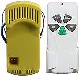 Corebay Universal Ceiling Fan Remote Control and Receiver Kit Replacement of Harbor Breeze, Hunter, Hampton Bay, with Receiver FAN28R, Replace FAN-11T FAN-53T UC7030T FAN-53T KUJCE9103