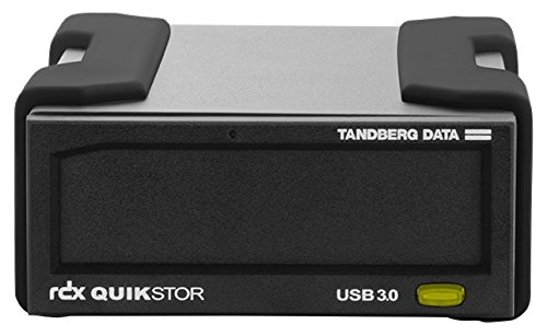 Tandberg RDX External Drive kit 4TB Black USB3+ (enthält AccuGuard Deduplication Backup Software)