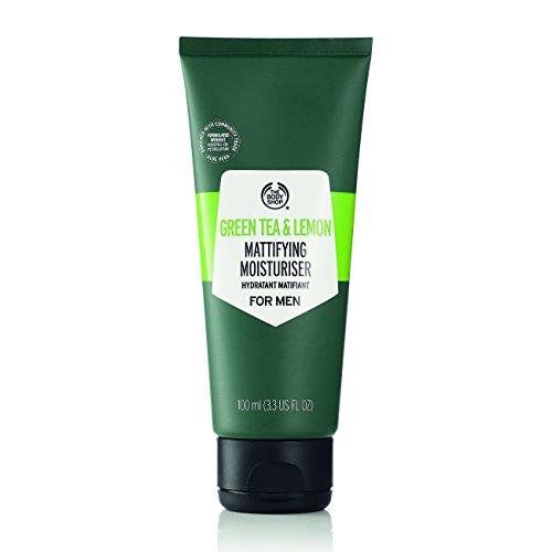 The Body Shop Green Tea and Lemon Mattifying - Crema hidratante para hombre (100 ml)