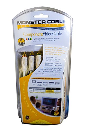 Monster Home Series Component Video Cable 16 ft.