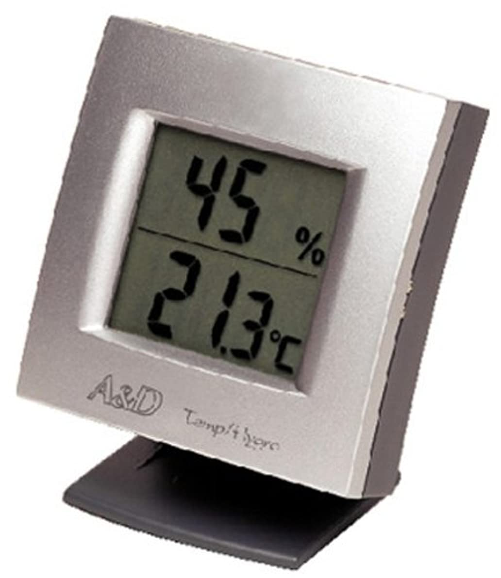 もっともらしい真っ逆さま突然のA&D インテリア温湿度計 AD-5649